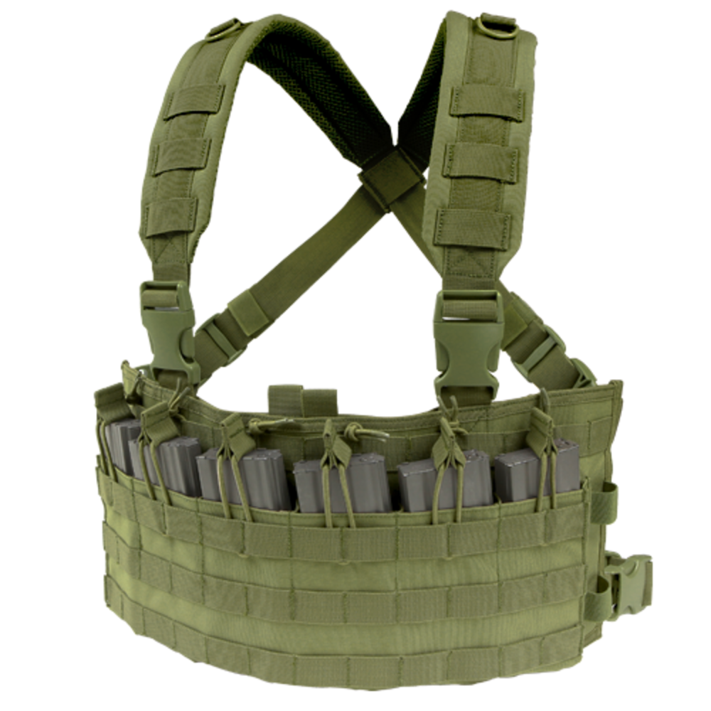 Rapid Assault Chest Rig OD thumbnail
