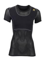 ACLIMA Woolnet Women's T-shirt Black - outdoorpro.dk