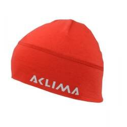 ACLIMA Lightwool Jib Beanie High Risk Red - outdoorpro.dk