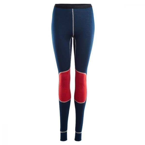 Aclima Lightwool Reinforced Long Pants Woman Insignia Blue/High Risk Red