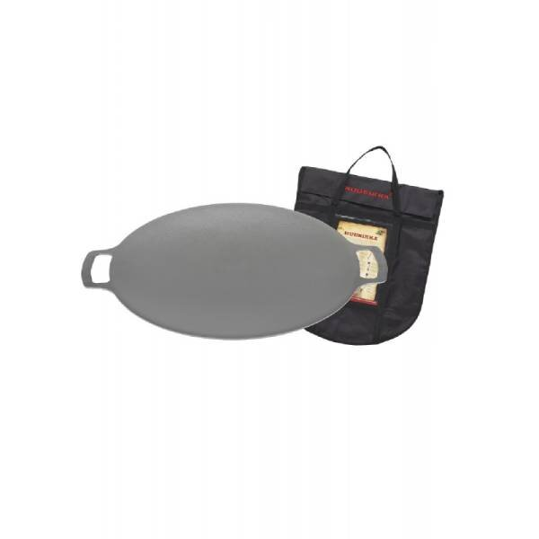Griddle Pan 38 cm w.coverbag without legs