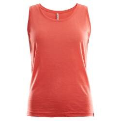 Aclima Lightwool Singlet Woman - Burnt Sienna - Front - Kan købes hos Outdoorpro.dk