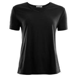 Aclima Lightwool T-Shirt Loose Fit - Black