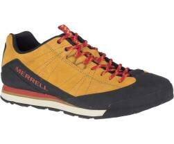 Merrell Catalyst Suede Gold herre sko i Gul, Sort og rød kan købes hos Outdoorpro.dk - Front