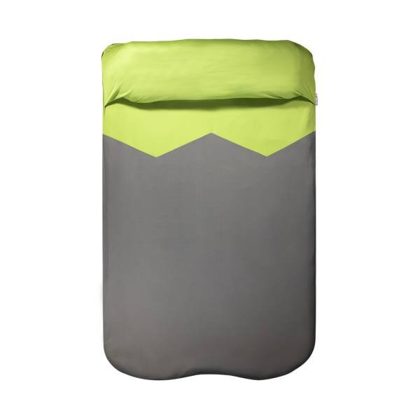 Klymit Double V Sheet Pad Cover - Green/Grey
