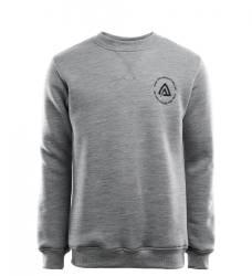 Aclima Fleecewool Crew Neck Mens - Grey Melange - outdoorpro.dk