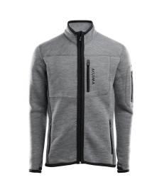 Aclima Fleecewool Jacket Mens - Grey Melange - outdoorpro.dk