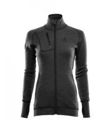Aclima Doublewool Jacket Women - Marengo/Jet Black - outdoorpro.dk