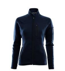 Aclima Fleecewool jacket Women - Navy Blazer - outdoorpro.dk