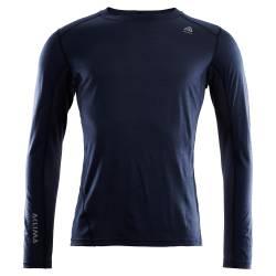 Aclima Lightwool Sports Shirt Mens - Navy Blazer - outdoorpro.dk