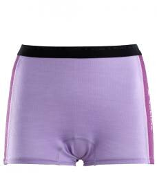 Aclima Warmwool Boxer Shorts Women - Purple Rose / Sunset Purple - outdoorpro.dk
