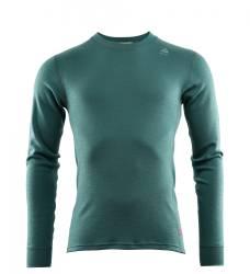 Aclima Warmwool Crew Neck Shirt Mens - North Atlantic - front - outdoorpro.dk