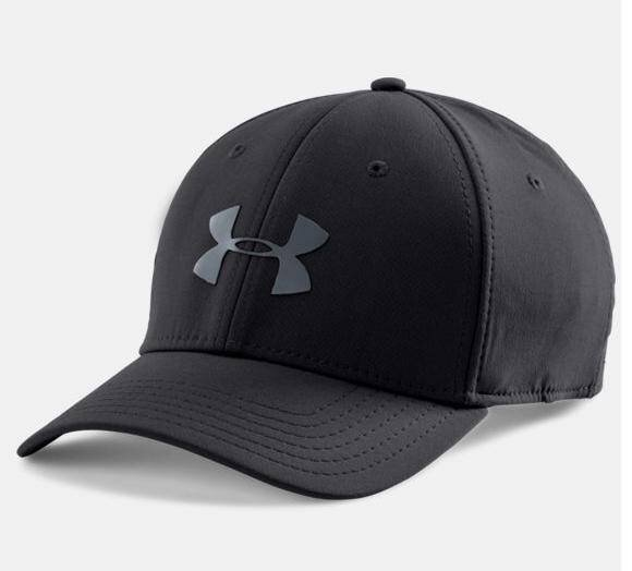 UA Headline Strech Fit Cap HeatGear thumbnail