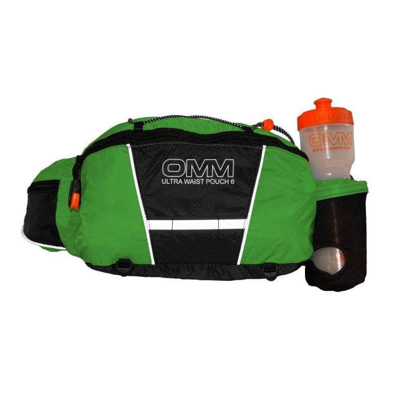 Ultra Waist Pouch (With Bottle) Green/Black thumbnail