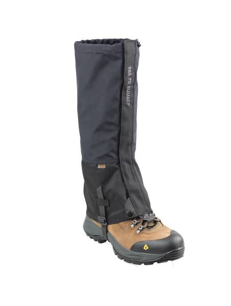 Alpine eVent Gaiters Large Black